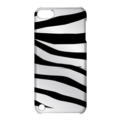 White Tiger Skin Apple Ipod Touch 5 Hardshell Case With Stand