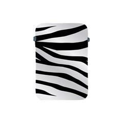 White Tiger Skin Apple Ipad Mini Protective Soft Cases