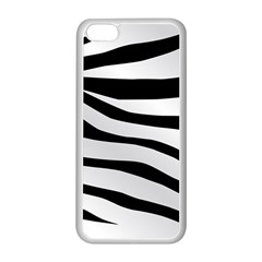 White Tiger Skin Apple Iphone 5c Seamless Case (white)