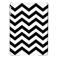 Black And White Chevron Ipad Air Hardshell Cases