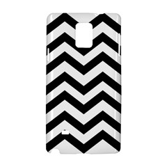 Black And White Chevron Samsung Galaxy Note 4 Hardshell Case
