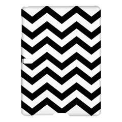 Black And White Chevron Samsung Galaxy Tab S (10 5 ) Hardshell Case
