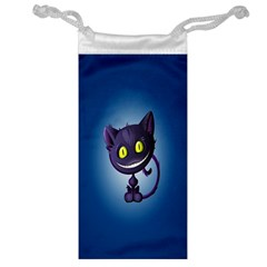 Funny Cute Cat Jewelry Bag by BangZart