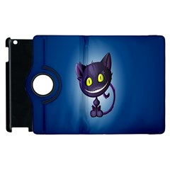 Funny Cute Cat Apple Ipad 3/4 Flip 360 Case