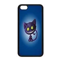 Funny Cute Cat Apple Iphone 5c Seamless Case (black) by BangZart