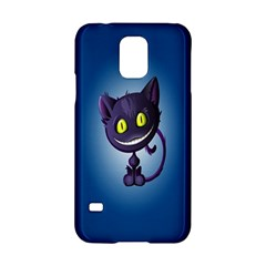 Funny Cute Cat Samsung Galaxy S5 Hardshell Case