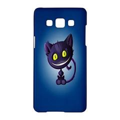 Funny Cute Cat Samsung Galaxy A5 Hardshell Case