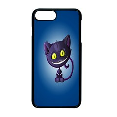 Funny Cute Cat Apple Iphone 7 Plus Seamless Case (black) by BangZart