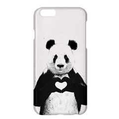 Panda Love Heart Apple Iphone 6 Plus/6s Plus Hardshell Case