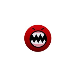 Funny Angry 1  Mini Buttons by BangZart