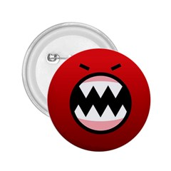 Funny Angry 2 25  Buttons by BangZart