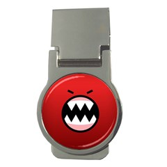 Funny Angry Money Clips (round)