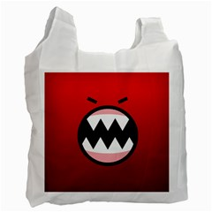 Funny Angry Recycle Bag (one Side)