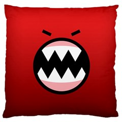 Funny Angry Standard Flano Cushion Case (two Sides) by BangZart