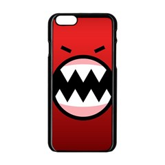 Funny Angry Apple Iphone 6/6s Black Enamel Case by BangZart