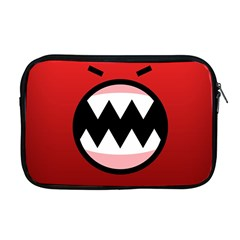 Funny Angry Apple Macbook Pro 17  Zipper Case by BangZart