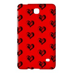 Lovely Hearts 17b Samsung Galaxy Tab 4 (8 ) Hardshell Case  by MoreColorsinLife
