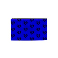 Lovely Hearts 17d Cosmetic Bag (small)  by MoreColorsinLife