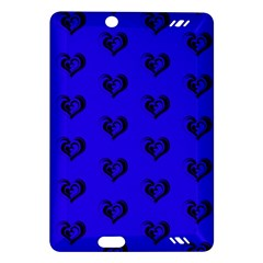 Lovely Hearts 17d Amazon Kindle Fire Hd (2013) Hardshell Case by MoreColorsinLife