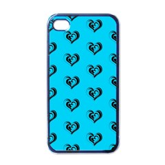 Lovely Hearts 17f Apple Iphone 4 Case (black) by MoreColorsinLife
