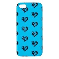Lovely Hearts 17f Iphone 5s/ Se Premium Hardshell Case by MoreColorsinLife