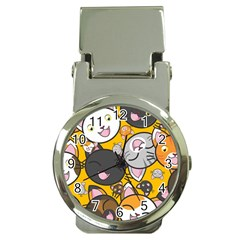 Cats Cute Kitty Kitties Kitten Money Clip Watches