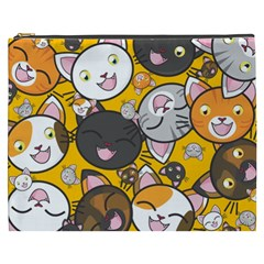 Cats Cute Kitty Kitties Kitten Cosmetic Bag (xxxl)
