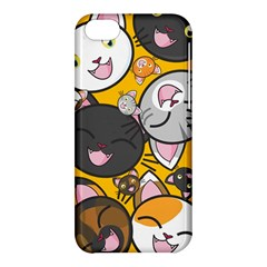Cats Cute Kitty Kitties Kitten Apple Iphone 5c Hardshell Case