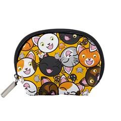 Cats Cute Kitty Kitties Kitten Accessory Pouches (small)  by BangZart