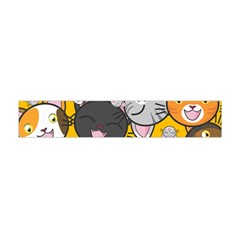 Cats Cute Kitty Kitties Kitten Flano Scarf (mini)