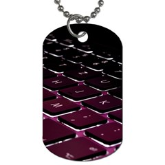 Computer Keyboard Dog Tag (one Side) by BangZart