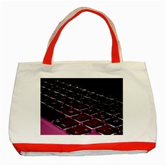 Computer Keyboard Classic Tote Bag (red)
