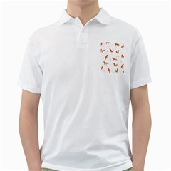 Fox Animal Wild Pattern Golf Shirts by BangZart