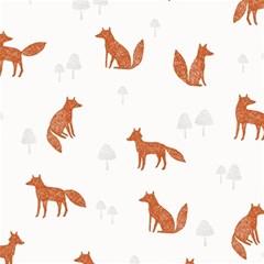 Fox Animal Wild Pattern Magic Photo Cubes