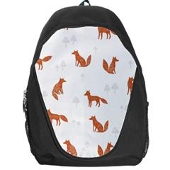 Fox Animal Wild Pattern Backpack Bag