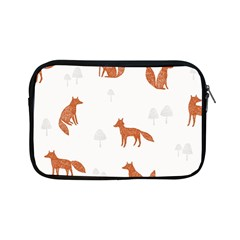 Fox Animal Wild Pattern Apple Ipad Mini Zipper Cases by BangZart