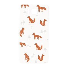 Fox Animal Wild Pattern Samsung Galaxy Alpha Hardshell Back Case by BangZart
