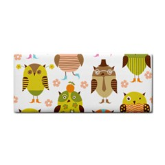 Cute Owls Pattern Cosmetic Storage Cases by BangZart