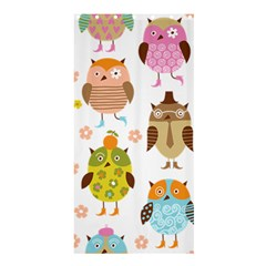 Cute Owls Pattern Shower Curtain 36  X 72  (stall)  by BangZart