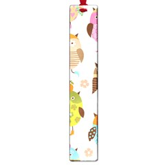 Cute Owls Pattern Large Book Marks