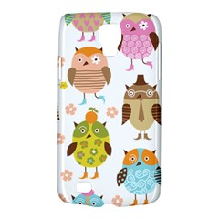 Cute Owls Pattern Galaxy S4 Active