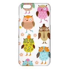 Cute Owls Pattern Iphone 6 Plus/6s Plus Tpu Case