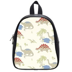 Dinosaur Art Pattern School Bags (small)