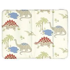 Dinosaur Art Pattern Samsung Galaxy Tab 7  P1000 Flip Case by BangZart
