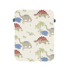Dinosaur Art Pattern Apple Ipad 2/3/4 Protective Soft Cases by BangZart