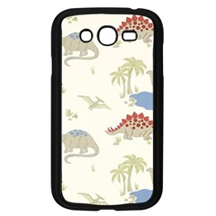 Dinosaur Art Pattern Samsung Galaxy Grand Duos I9082 Case (black)