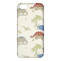 Dinosaur Art Pattern Apple Iphone 5c Hardshell Case