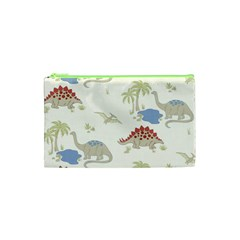 Dinosaur Art Pattern Cosmetic Bag (xs)