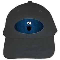 Funny Face Black Cap by BangZart