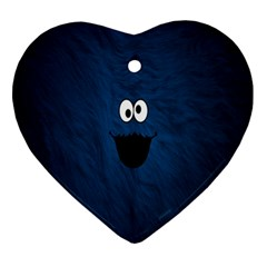 Funny Face Ornament (heart)